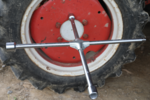 Llave de cruz para camiones, 24x27x32x3/4 cabezal cuadrado