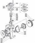 Compresor sin aceite de 8 bar - 6 litros, 385x170x465mm