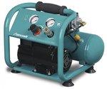 Compresor de bajo ruido sin aceite 10 bar, 4 litros