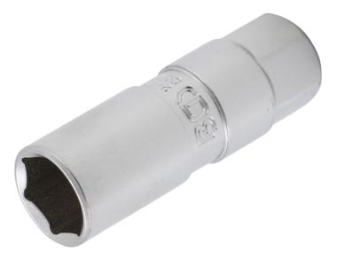 cuadrado interno 12,5 mm | 18 mm BGS 2402 1//2 Vaso para buj/ías hexagonal