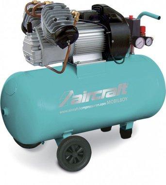 Compresor movil 2 cil. Hos 10 bar, 50 litros.