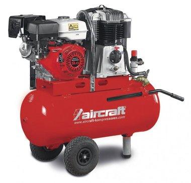 Compresor de construcción de gasolina móvil de 14 bar - 100 litros.