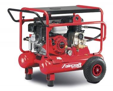 Compresor de construcción de gasolina móvil 10 bar - 2x10 litros