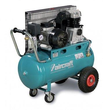 Compresor de aceite accionado por correa 10 bar - 50 litros.