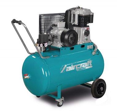 Compresor de aceite accionado por correa 10 bar - 200 litros