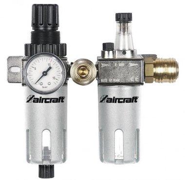 Filtro / regulador de presión + atomizador de aceite 1/4