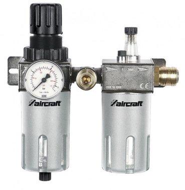 Filtro / regulador de presión + atomizador de aceite 1/2