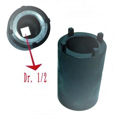 Enchufe de fijación de la base del varillaje de dirección Daf 41mm